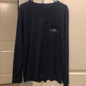 Large Vineyard Vines LS Tee